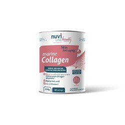Marine Collagen with hyaluronic acid and vitamin C, anti-aging, skin beauty