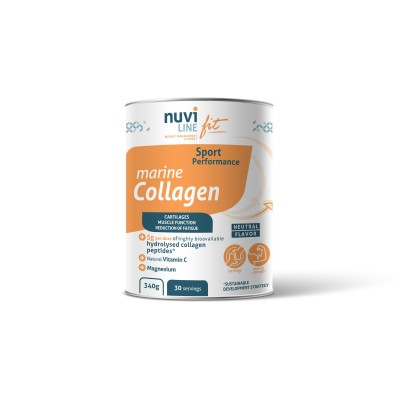 Marine Collagen with vitamin C and magnesium for sports nutrition