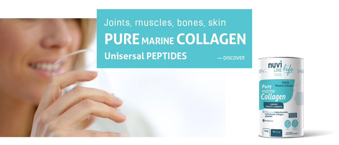 Pure marine collagen universal for joints, muscles, bones and skin